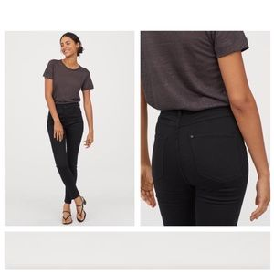 🌿 NWT | Divided Super Slim Leg Black Pants